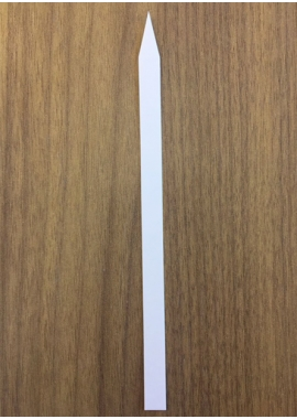 WEIGHING STRIP – Size 8 x 140 mm (pointed tip)