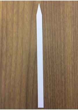 Modèle « De pesée» - Format 6 x 140 mm (bout pointu)
