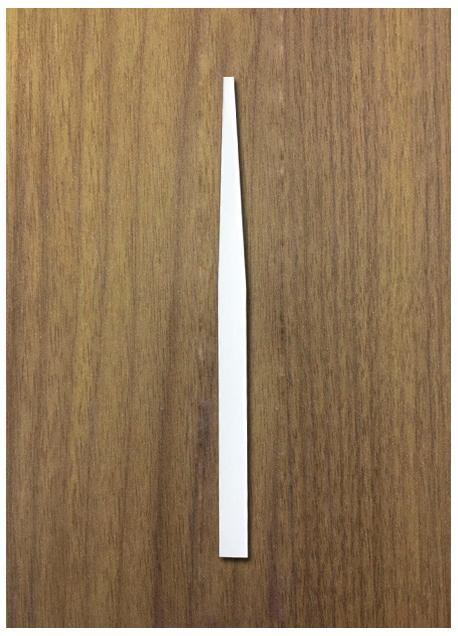 LABORATORY STRIP : SIZE 6 x 140 MM (RECTANGULAR)